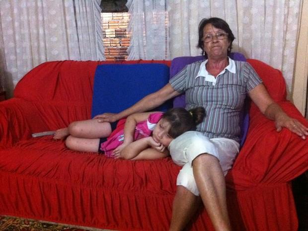 Elaine Marques Gonçalves mãe de duas vítimas de incêndio em Santa Maria (Foto: Tatiana Lopes/G1)