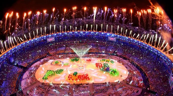 Cerimônia de encerramento da Olimpíada Rio