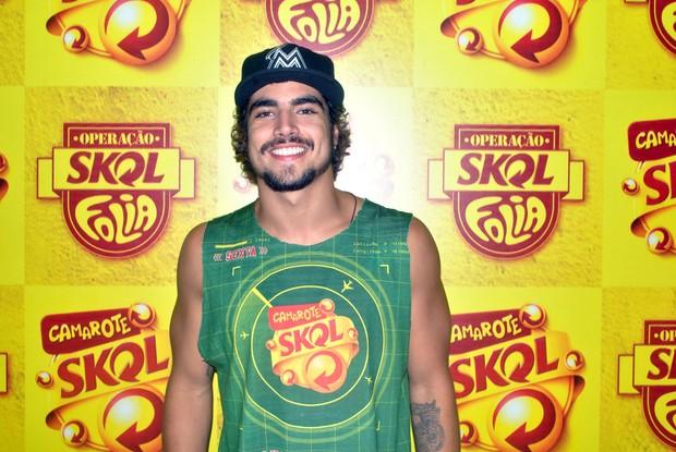 Caio Castro em Salvador (Foto: Marcelo Machado/Ag Haack)