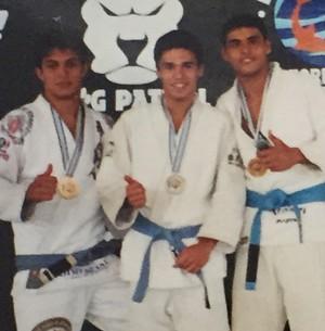Rômulo Estrela competiu jiu-jitsu dos 13 aos 22 anos (Foto: Arquivo pessoal)