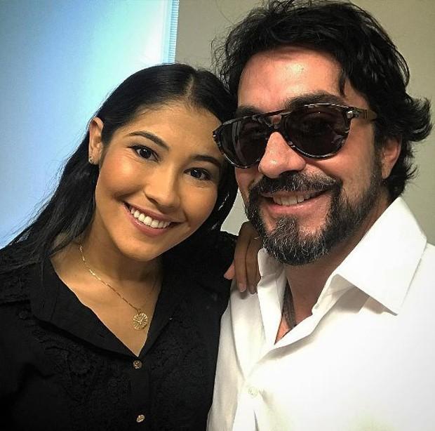 Padre Fábio de Melo e Thaynara OG (Foto: Reprodução/Instagram)