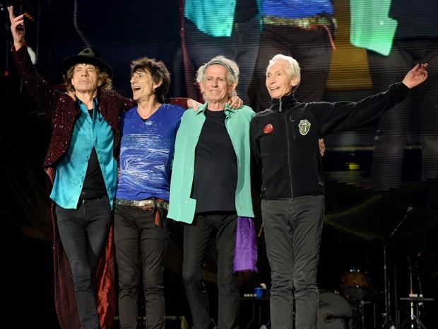 Rolling Stones confirmaram shows no Brasil em fevereiro (Foto: Divulgação/Kevin Mazur)