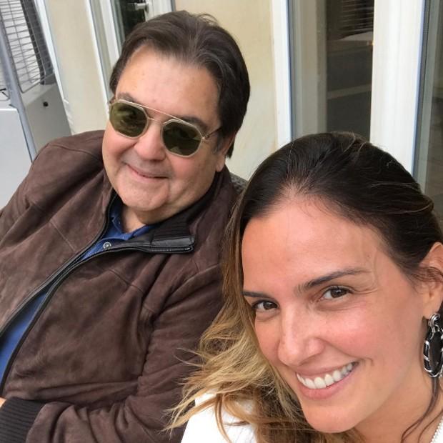Faustão e Luciana Cardoso (Foto: Reprodução/Instagram)