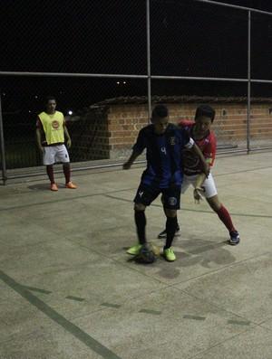 Charles foi o destaque do Inter na vitória sobre o Só Nois - Piauiense de Futsal 2014 (Foto: Wenner Tito)