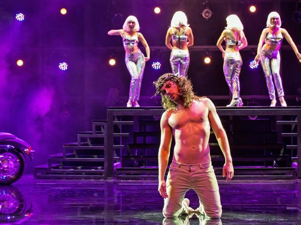 Igor Rickli no musical 'Jesus Cristo Superstar' (Foto: Divulgação/T4F)