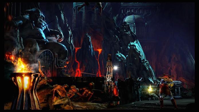 God of War 3 Remastered (Foto: Reprodução/Victor Teixeira)