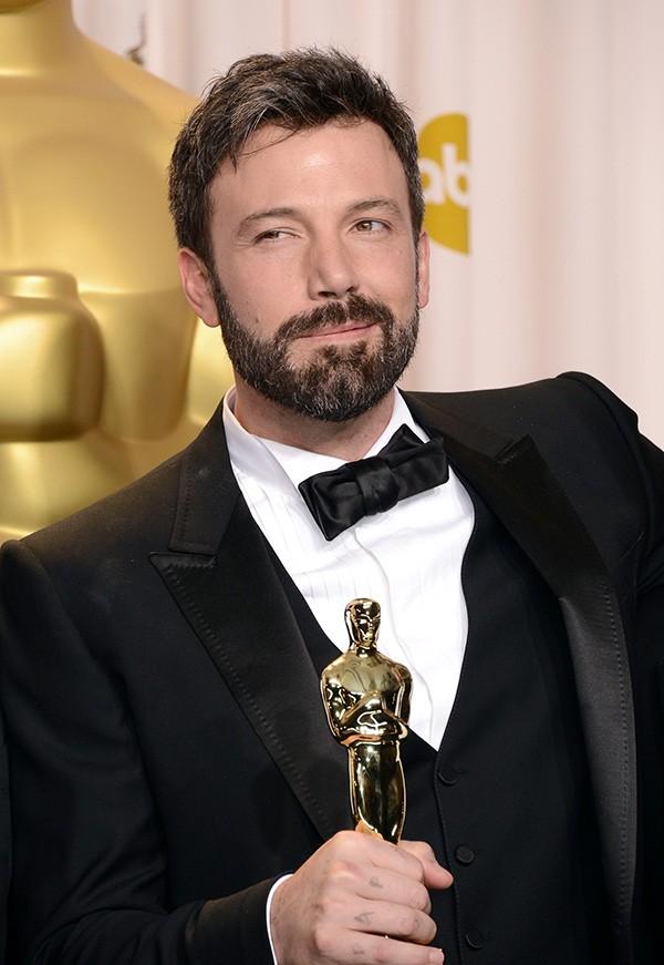 Ben Affleck na cerimônia do Oscar em 2013 (Foto: Getty Images)