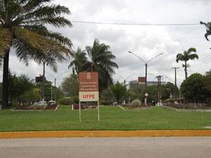 Universidade Federal de Pernambuco (UFPE) (Foto: Vanessa Bahé/G1)