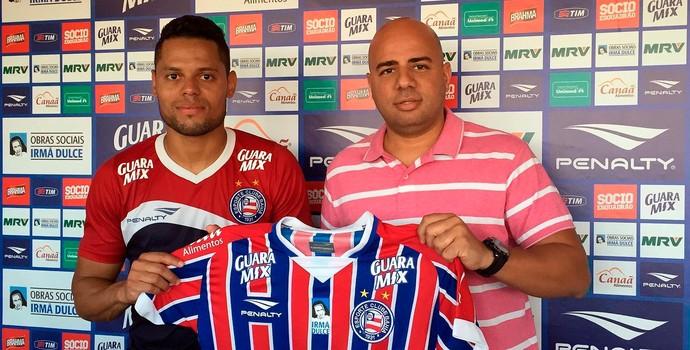 João Paulo Gomes; Bahia (Foto: Divulgação/EC Bahia)