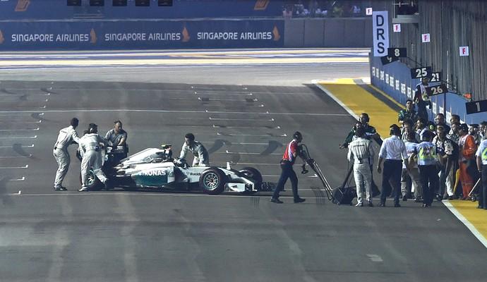Rosberg Formula 1 Cingapura (Foto: Getty Images)