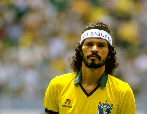 Sócrates 1986 (Foto: Getty Images)