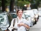 Uma Thurman revela o 'pequeno' nome da filha de três meses