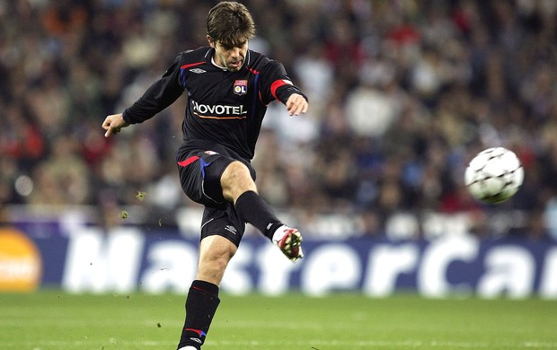 Juninho, Lyon, Vasco (Foto: Getty Images)