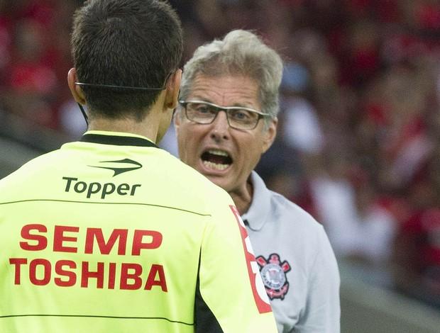 Oswaldo de Oliveira Flamengo x Corinthians