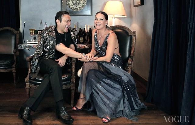 Carolina Ferraz é a convidada do novo episódio de Mister V (Foto: Divulgação)