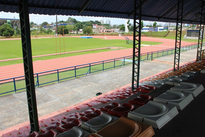 Pista de atletismo da Vila Olímpica de Manaus (Foto: Divulgação/FVO)