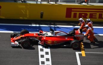 Vettel é punido e perde cinco posições no grid da Rússia por troca de câmbio