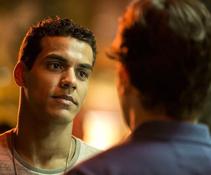 Ivan diz que não vai desistir de Sérgio (Foto: Inácio Moraes/Gshow)