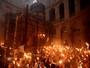Cristãos celebram Páscoa Ortodoxa em Jerusalém (Gali Tibbon / AFP)