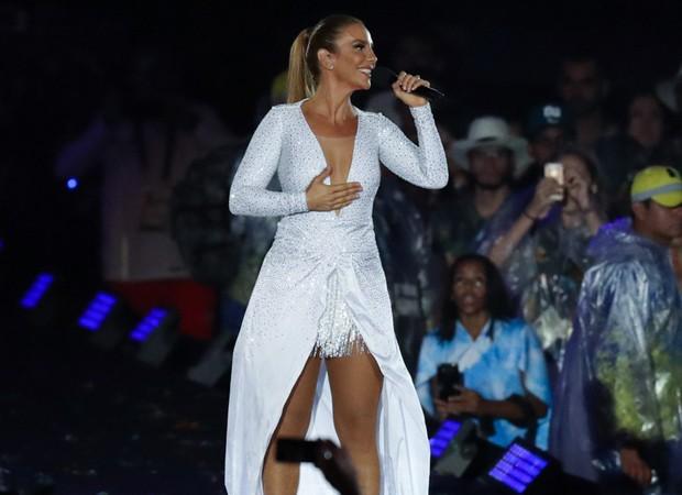 Ivete Sangalo canta no encerramento da Paralimpíada Rio 2016 (Foto: Glaucon Fernandes/AgNews)