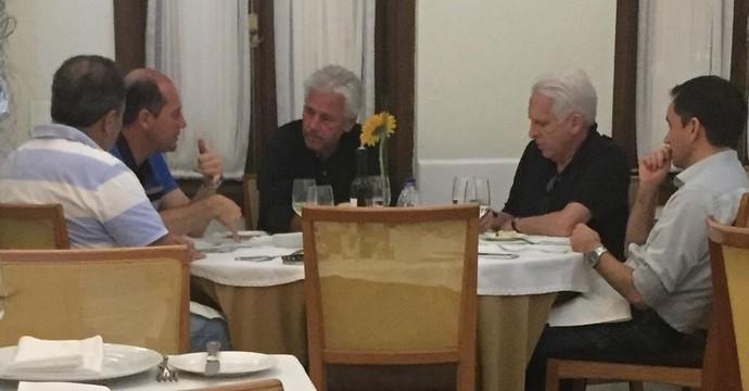 Reunião Flamengo diretores (Foto: GloboEsporte.com)