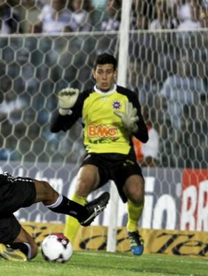 Helton Leite, goleiro do Ipatinga em 2012 (Foto: Ceara SC / Divulgação)