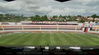estádio Santa Cruz, Ribeirão Preto (Foto: Leonardo Lourenço)