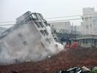 Vai a 91 número de desaparecidos em deslizamento de terra na China