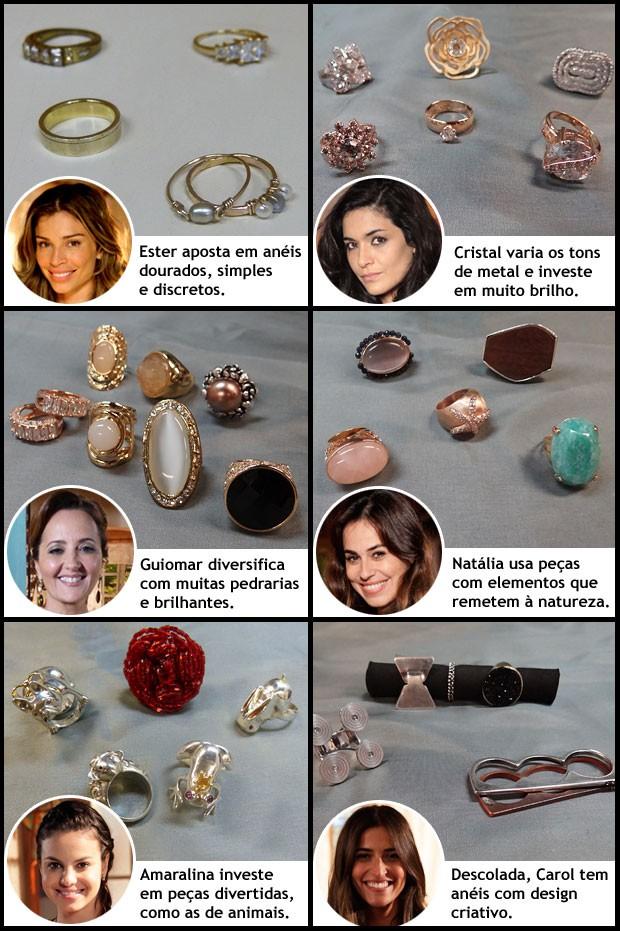 aneis (Foto: Flor do Caribe / TV Globo)