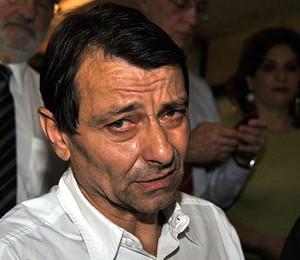 Foto do italiano Cesare Battisti feita em novembro de 2009 (Foto: José Cruz / ABr)