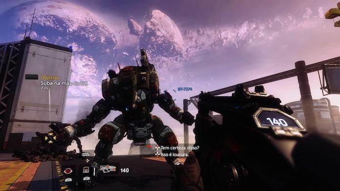 Titanfall 2: sistema de combate é o melhor entre os FPS (Foto: Reprodução/Victor Teixeira)