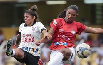"""Adversários no Paulistão, Audax e Corinthians são """"um só"""" no feminino"""