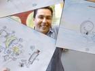 Desenhista de Sorocaba é premiado em concurso estadual