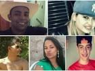 Corpos dos 5 jovens mortos em acidente são enterrados em Goiás