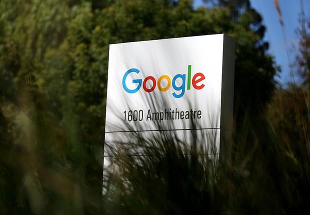 Sede do Google em Mountain View (Foto: Justin Sullivan/Getty Images)