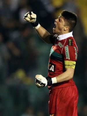 Tiago Volpi Figueirense x Atlético-MG (Foto: Getty Imagens)