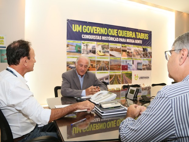 Empresa investe R$ 8,5 milhões Distrito Industrial Uberaba (Foto: Neto Talmeli/PMU)