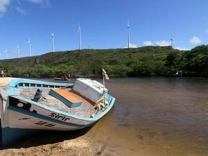 Praia de Sagi (Foto: Canindé Soares)
