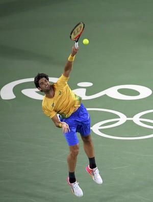 Thomaz Bellucci tênis olimpíada rio 2016 (Foto: REUTERS/Toby Melville)