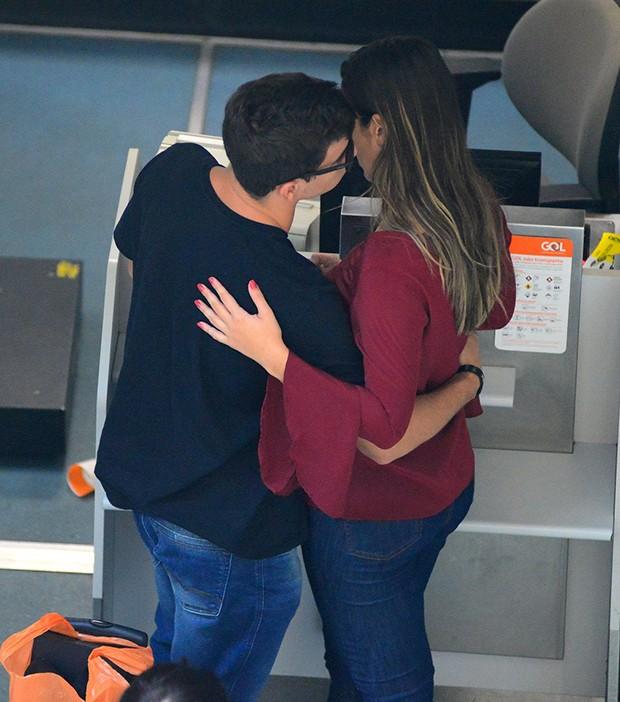 Manoel e Vivian (Foto: AgNews)