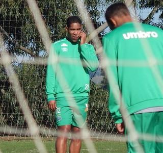 Cleber Santana Chapecoense (Foto: Laion Espíndula)