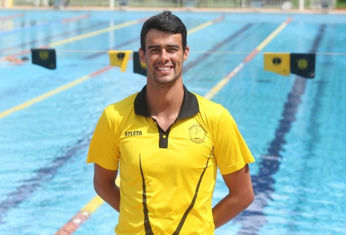 Ruan de Souza atleta de natação do Praia Clube (Foto: Assessoria Praia Clube/Divulgação)