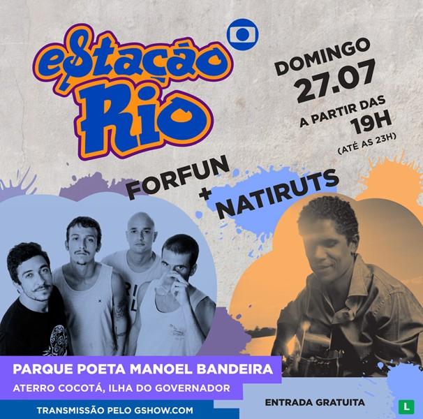 Forfun e Natiruts (Foto: Divulgação)