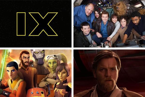 Episódio IX, Star Wars Rebels, derivados sobre Han Solo e Obi-Wan... Após Os Últimos Jedi, muita coisa ainda aguarda os fãs de Star Wars (Foto: Divulgação/Reprodução)