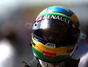 Bruno Senna - treino classificatório - GP da Hungria (Foto: Getty Images)