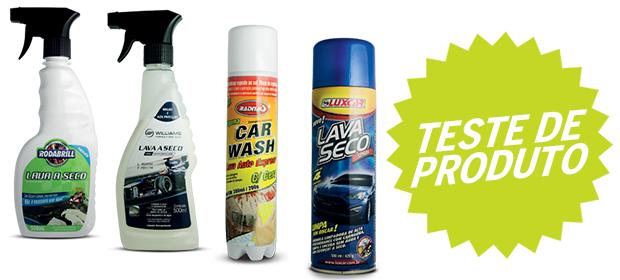 Teste de produtos: Lava a seco (Foto: Autoesporte)