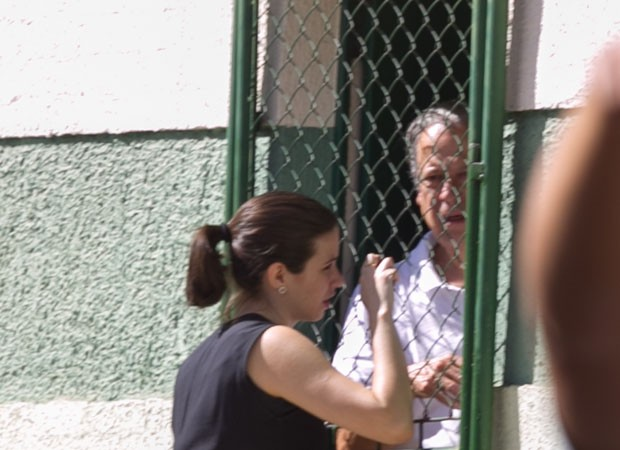 O ex-ministro José Dirceu no centro do Centro de Progressão Penitenciária (CPP), em Brasília (Foto: Ed Ferreira/Estadão Conteúdo)