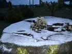 Dez cidades de Santa Catarina registram neve nesta segunda-feira