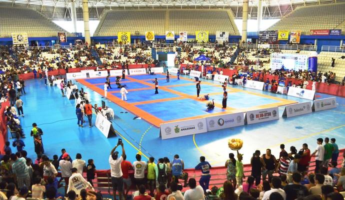 Jiu-jitsu amazonas arena amadeu teixeira (Foto: Emanuel Mendes Siqueira)