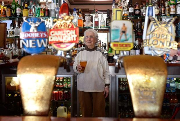 Bar fica na região de Woolloomooloo e já foi muito movimentado na década de 1970 (Foto: William West/AFP)